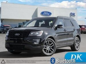 2016 Ford Explorer Sport AWD w/Twin Turbo V6, Leather, Tow Pkg