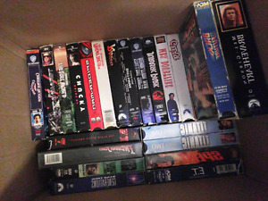 24 VHS Movies For Sale!!!!