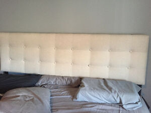 King Size Fabric Headboard Kitchener / Waterloo Kitchener Area image 1