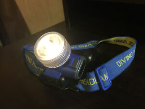 Diving Headlamp Cambridge Kitchener Area image 1
