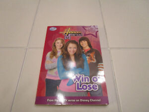 """Hannah Montana chapter book """"Win or Lose"""""""