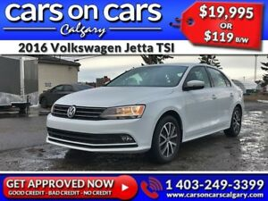 2016 Volkswagen Jetta TSI w/Sunroof, BackUp Cam, BlueTooth $119
