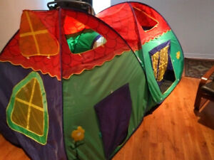 Tente jouet double / tent game for children