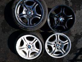 BMW Style 68 Staggered bararain M alloys E36 E46 E81M3 1 series Z3/4