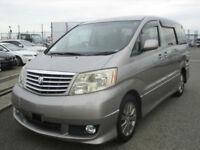 Toyota ALPHARD Premium Alcantara, Auto, Petrol, Grey, 36 month dealer warrantee
