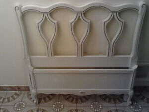 french provincial bed solid wood twin bed