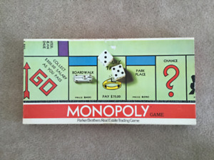 Monopoly Parker Brothers A9 Complete Set $15