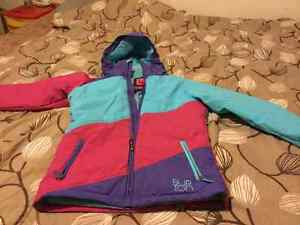 Girls XL Burton dry ride winter coat. Excellent condition. Smoke