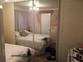 Large sliding wardrobe doors