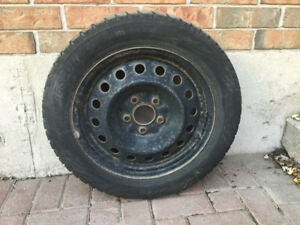 Bridgestone Blizzak Winter tires & rims 205/55 R16 91 H