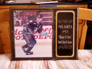 Plaque Paul Kariya (Anaheim)