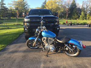 2011 Harley-Davidson XL883L Sportster SuperLow, lots of extras