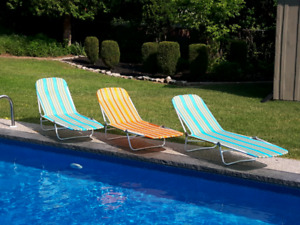 Beach Loungers $9 each *Delivery Available*