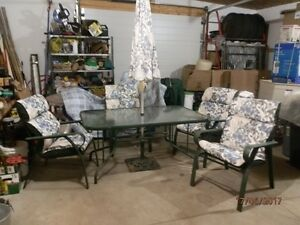 6 PIECE PATIO SET FOR SALE