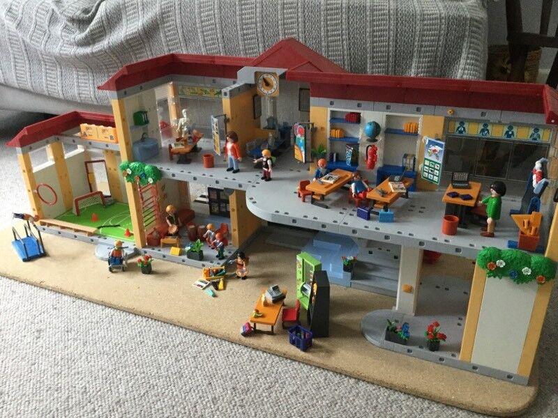 Playmobil School and gym hall set