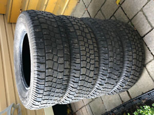 Winter Tires: 235/70R16