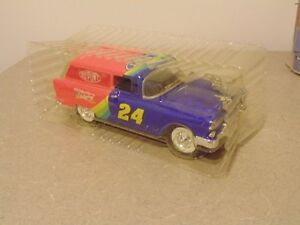 1993 JEFF GORDON #24 DUPONT 1955 CHEVY DELIVERY 1/25 BANK CAR