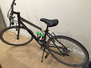 EVO River Sport Hybrid Bike + ABUS 410 Mini Ultra U Lock