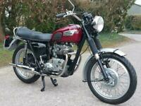 1970 TRIUMPH TIGER T100S, LOVELY 500 TWIN. MATCHING No's***RESERVED***