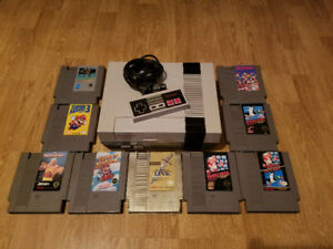 Original NES System With One Controller Games Are Also Available