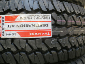 LT 285/75R16 FIRESTONE DESTINATION AT ON SALE $208.00 EACH