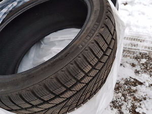 2 Winter Tires 225/40R18 For Sale West Island Greater Montréal image 1