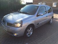 2005 RENAULT CLIO 1.2 16v AIR CONDITIONING LONG MOT, SERVICE HISTORY & BILLS, CHEAP INSURANCE