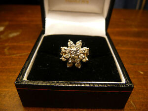 Beautiful Cluster Ring worth owning!