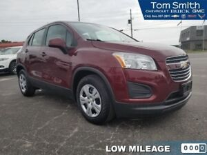 2016 Chevrolet Trax LS  - Bluetooth - Low Mileage