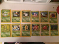 Pokemon cards - wizards 1999