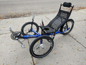 Recumbent Bike-2012 Greenspeed Magnum XL Trike