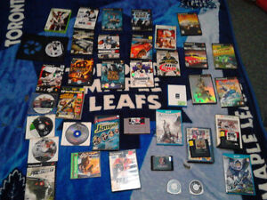 38 Video Games $95 OBO Or Best Offer PS2 WII U XBOX 360 SNES PS1