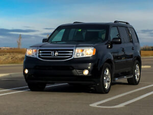 2012 Honda Pilot EX-L, LOADED, 4WD, 8 Pass, Great on Fuel !!