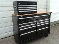 """52"""" HUSKY top and bottom Roller tool box chest combo ........"""