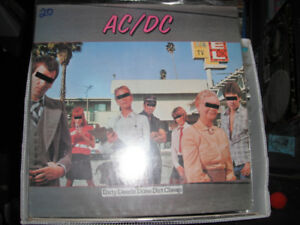 AC/DC, Dirty Deeds Done Dirt Cheap. Used LP, EX.