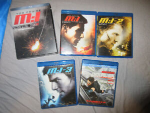 MISSION IMPOSSIBLE EXTREME BLURAY TRILOGY+GHOST PROTOCOL