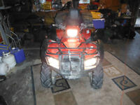2012 Honda Foreman 500 4x4, manual shift forsale