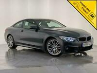 2016 66 BMW 420D M-SPORT HIGH SPEC AUTO LEATHER HEATED SEATS 1 OWNER SVC HISTORY
