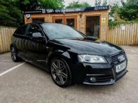 59 REG AUDI A3 2.0TDI ( 170ps ) QUATTRO BLACK EDITION IN BLACK