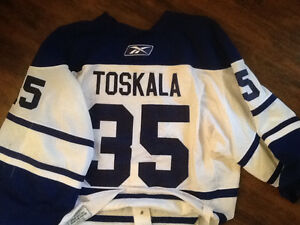 Toronto maple leafs game worn jersey hockey
