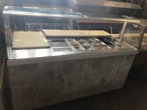 COLD SALAD TABLE DISPLAY COOLER FOR SALE