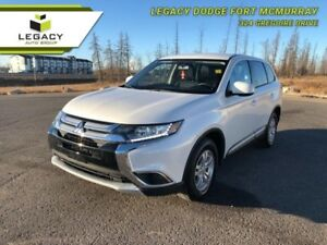 2017 Mitsubishi Outlander ES HEATED SEATS BLUETOOTH AWD
