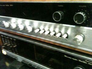 Vintage SANSUI Receiver -Toshiba Turntable-JBL speakers