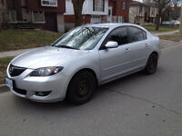 2005 Mazda3 GT Sedan with Brand New Winter Tires