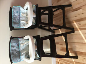 Kids high feeding chair