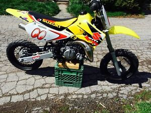 Reduced...65CC SUZUKI RM FLAT TRACK READY