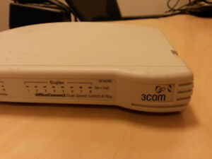 3Com OfficeConnect Dual Speed Switch 8
