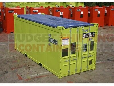 20ft DNV 2.7-1 Shipping Container, 20ft Half Height DNV Shipping Conatiners and 20ft Open Top Shipping Container