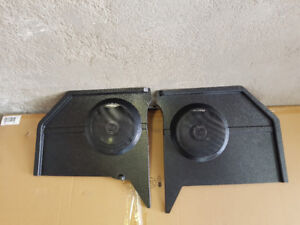 1965 mustang convertible kick panels with speakers