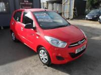 2011 11 HYUNDAI i10 1.0 BLUE 5 DOOR